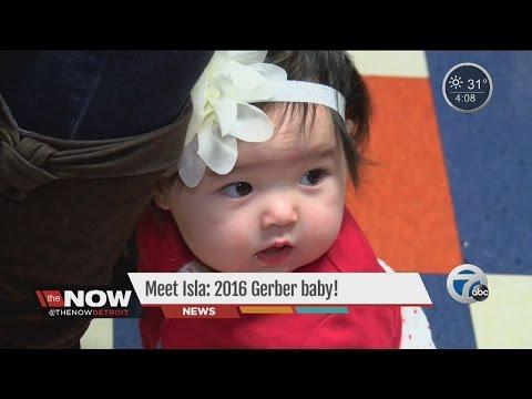 Meet Isla: 2016 Gerber Baby!