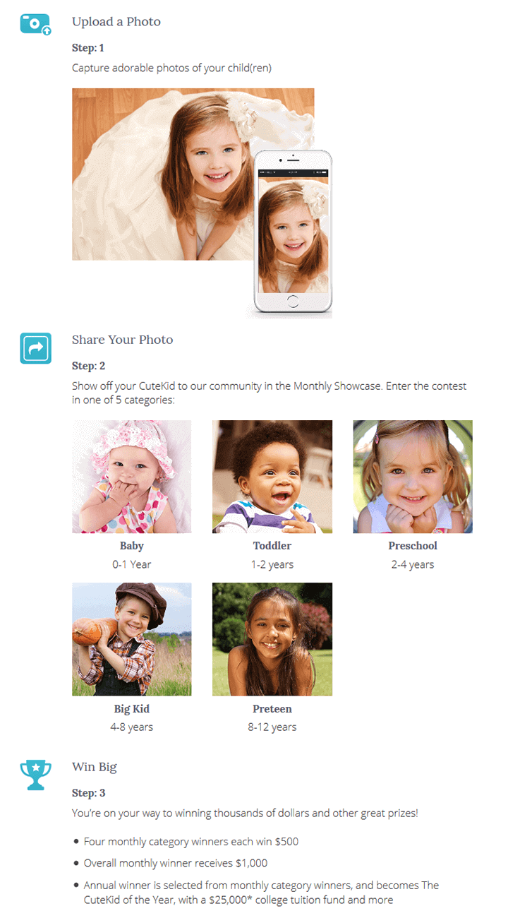Showcase your photo with the Cute Kid community.