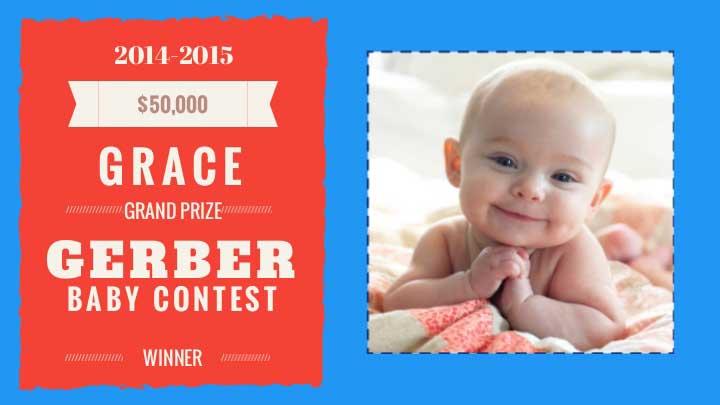 2015 Gerber Baby: Grace