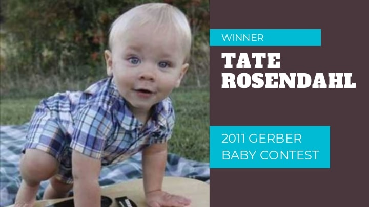 2012 Gerber Baby: Tate Rosendahl