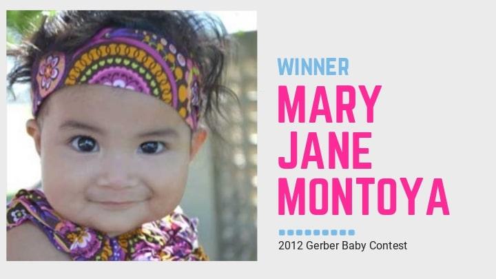 2013 Gerber Baby: Mary Jane Montoya