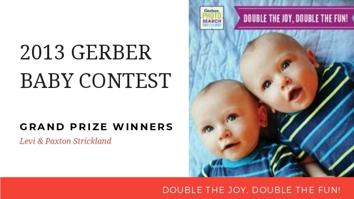 Gerber baby 2014: Levi & Paxton