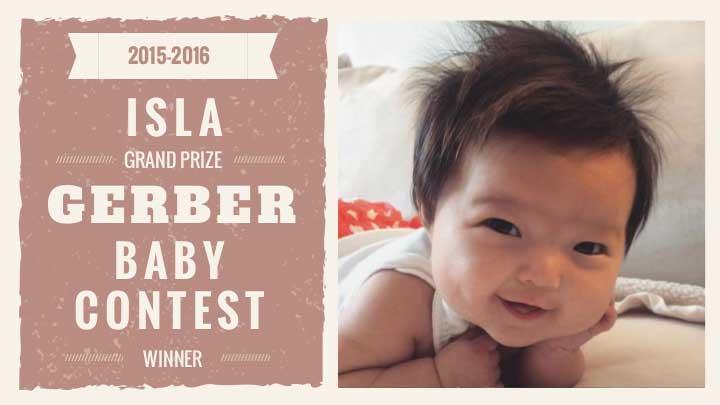 Gerber Baby 2016: Isla