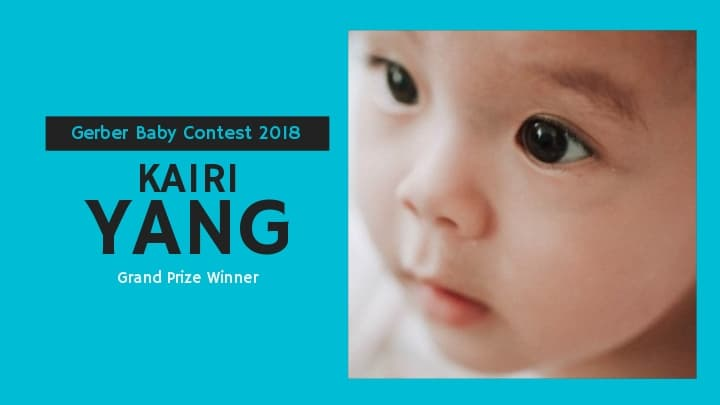 2019 Gerber Baby Kairi Yang from Hickory, North Carolina